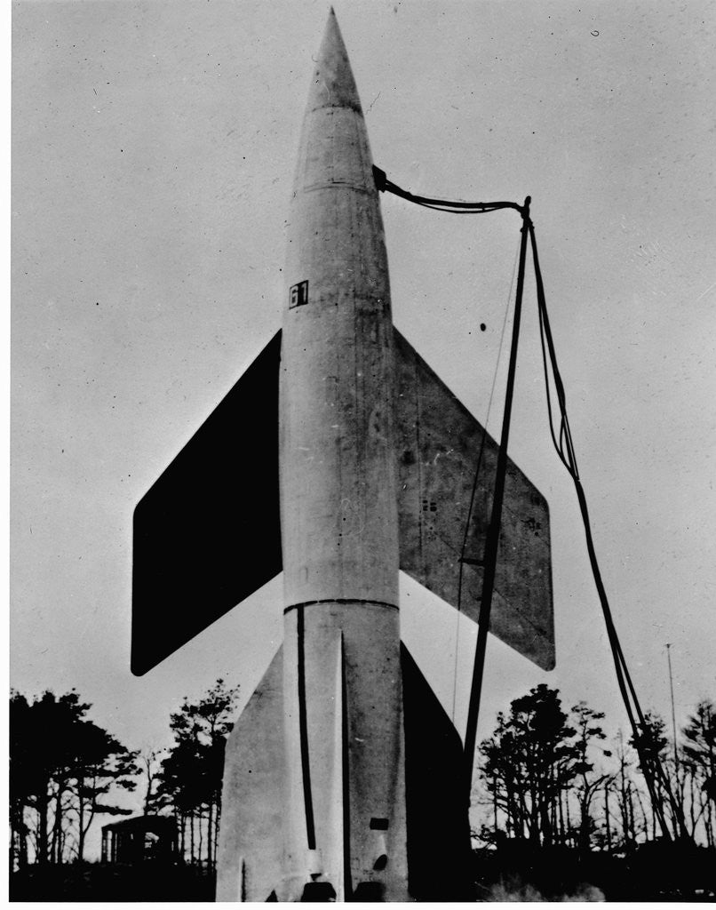 Detail of A German V-2 Rocket Ready for Launching by Corbis