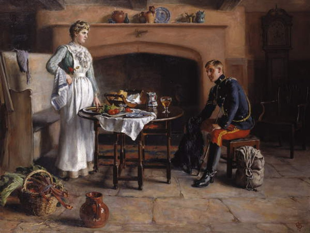 Home Sweet Home, c.1890 by Charles Martin Hodges