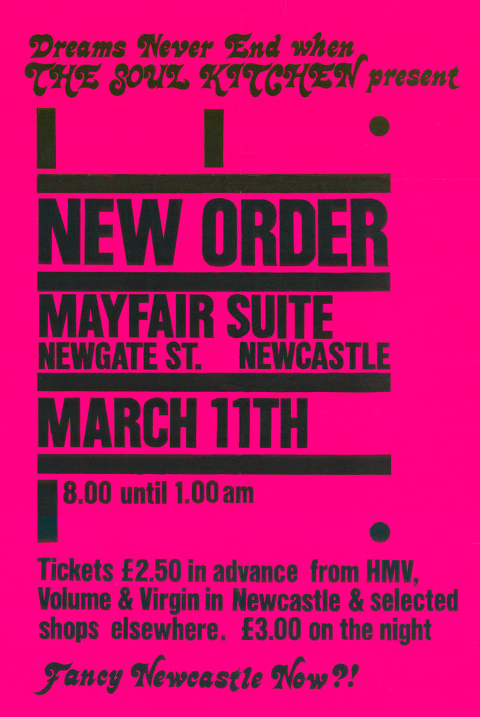 Detail of New Order Poster by Rokpool
