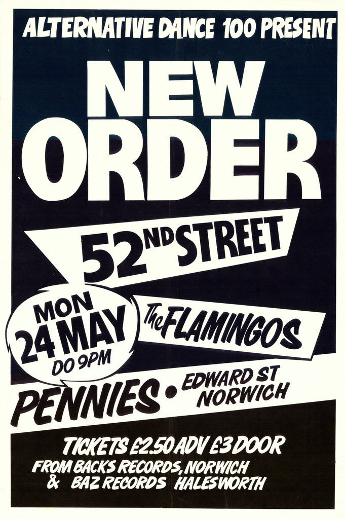 Detail of New Order Poster (1) by Rokpool