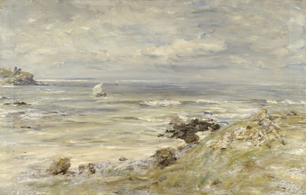 Detail of The Coming of Saint Columba by William McTaggart