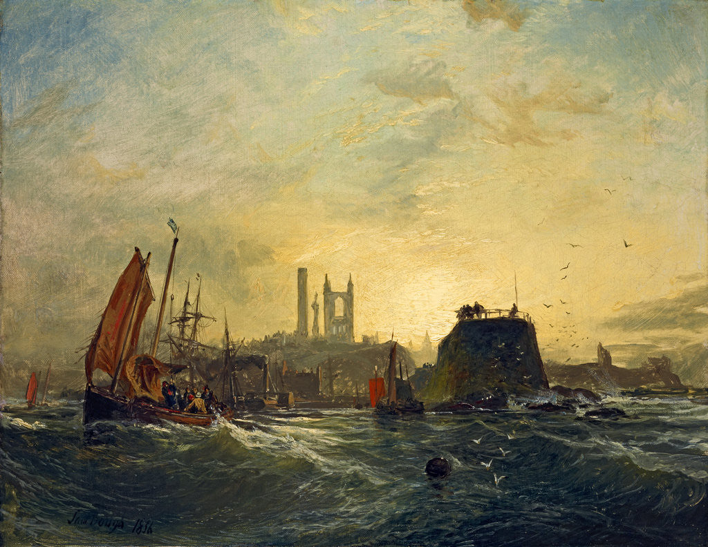 Off St Andrews by Samuel Bough