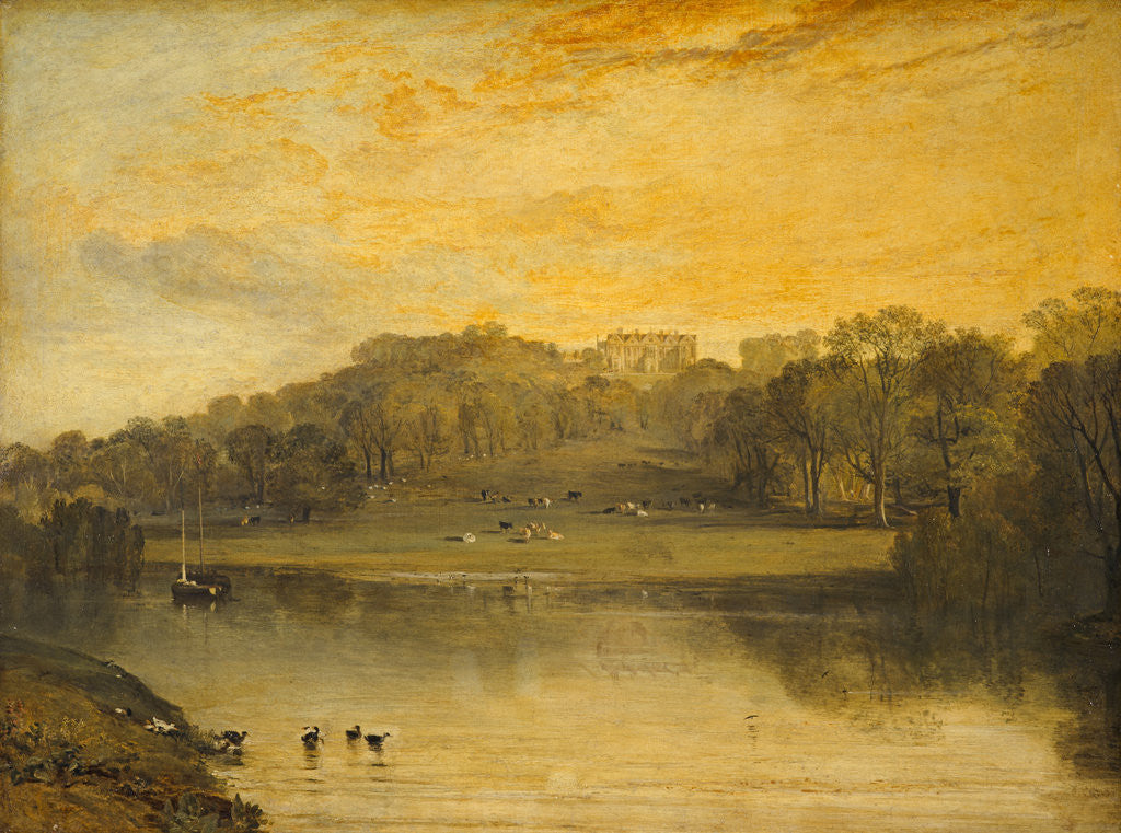 Detail of Somer Hill, Tonbridge by Joseph Mallord William Turner