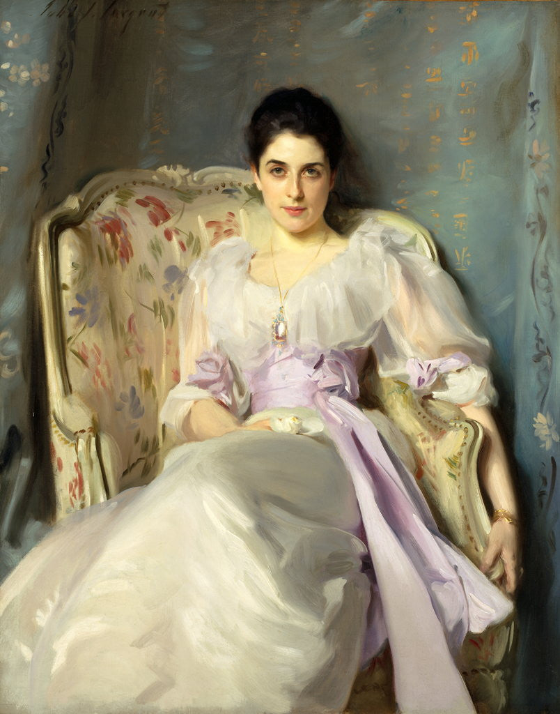 Detail of Lady Agnew of Lochnaw (1865 - 1932) by John Singer Sargent