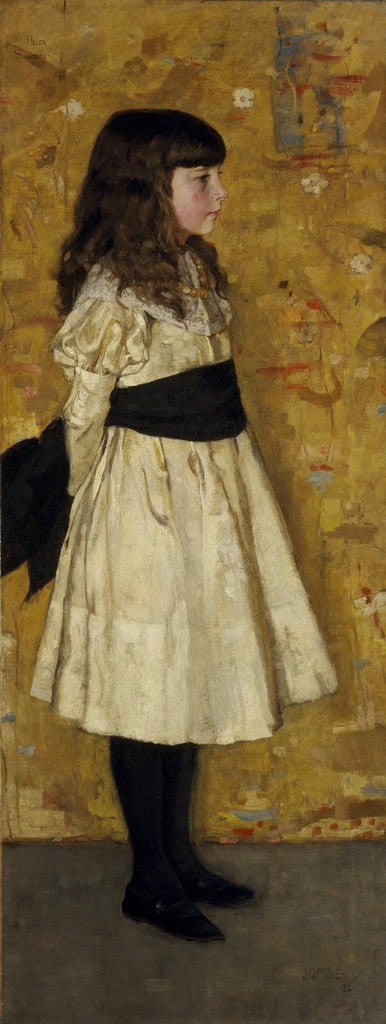 Detail of Margaret Helen Sowerby (known as Helen Sowerby) by Sir James Guthrie