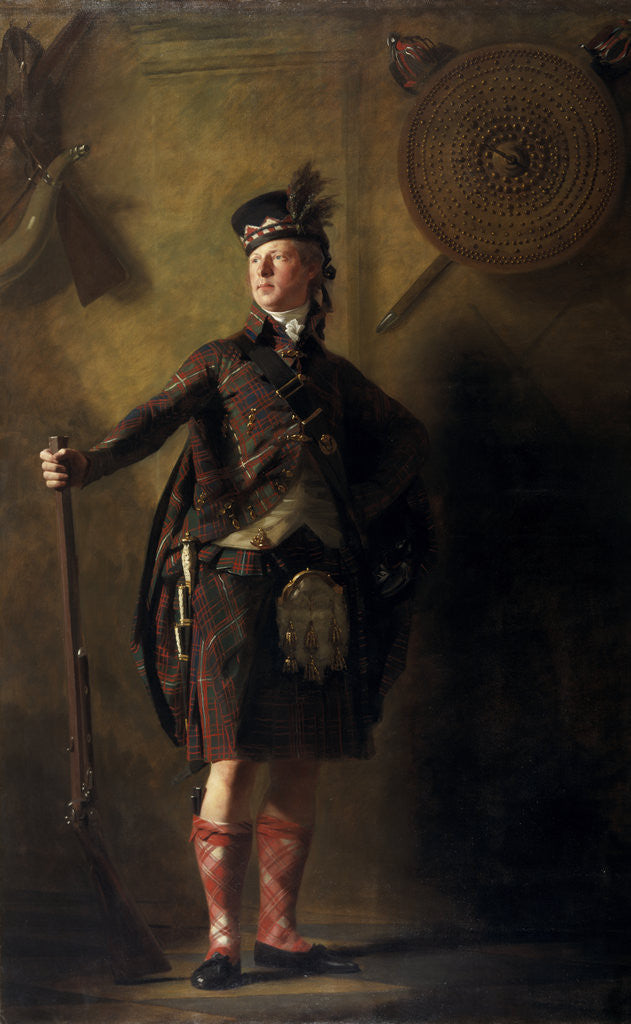 Detail of Colonel Alastair Ranaldson Macdonell of Glengarry (1771 - 1828) by Sir Henry Raeburn