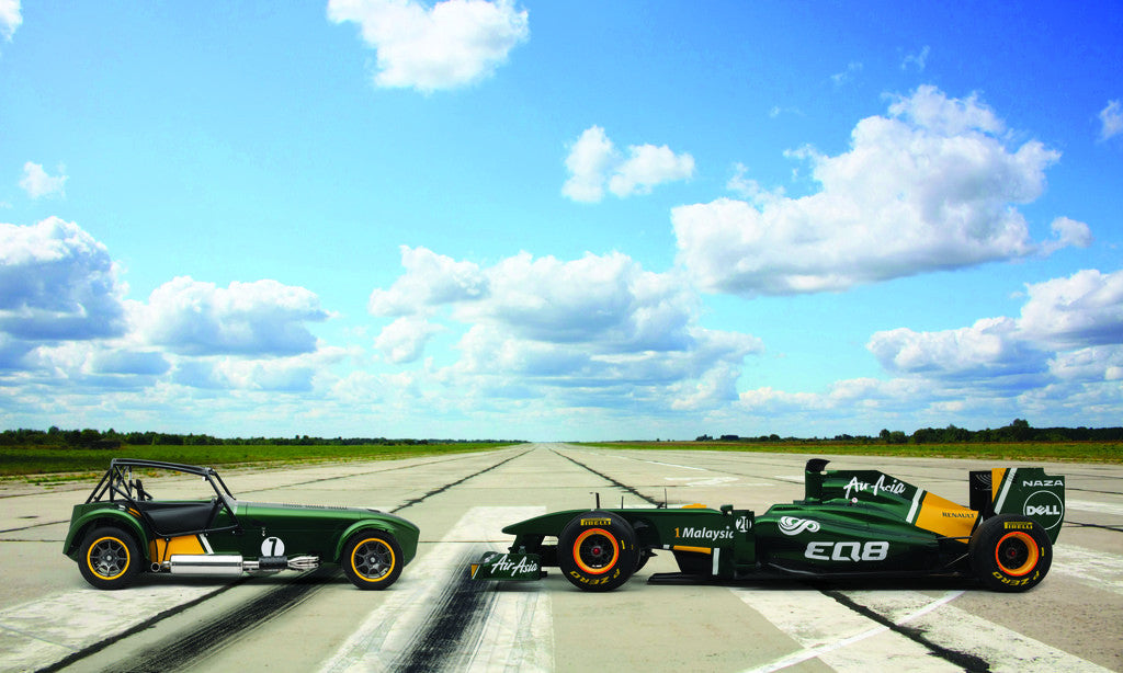 Detail of Caterham Launch by Christian Clogger