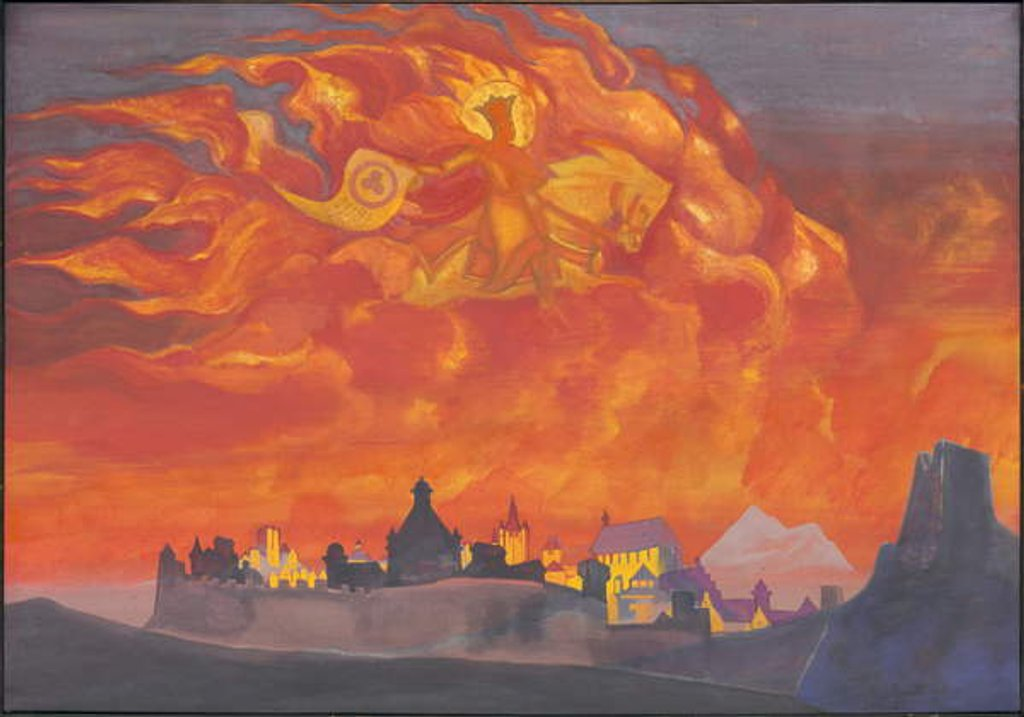 Detail of Sophia—the Wisdom of the Almighty, 1932 by Nicholas Roerich