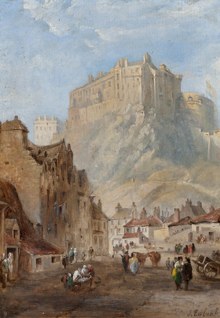 Detail of Edinburgh. by John Wilson Ewbank