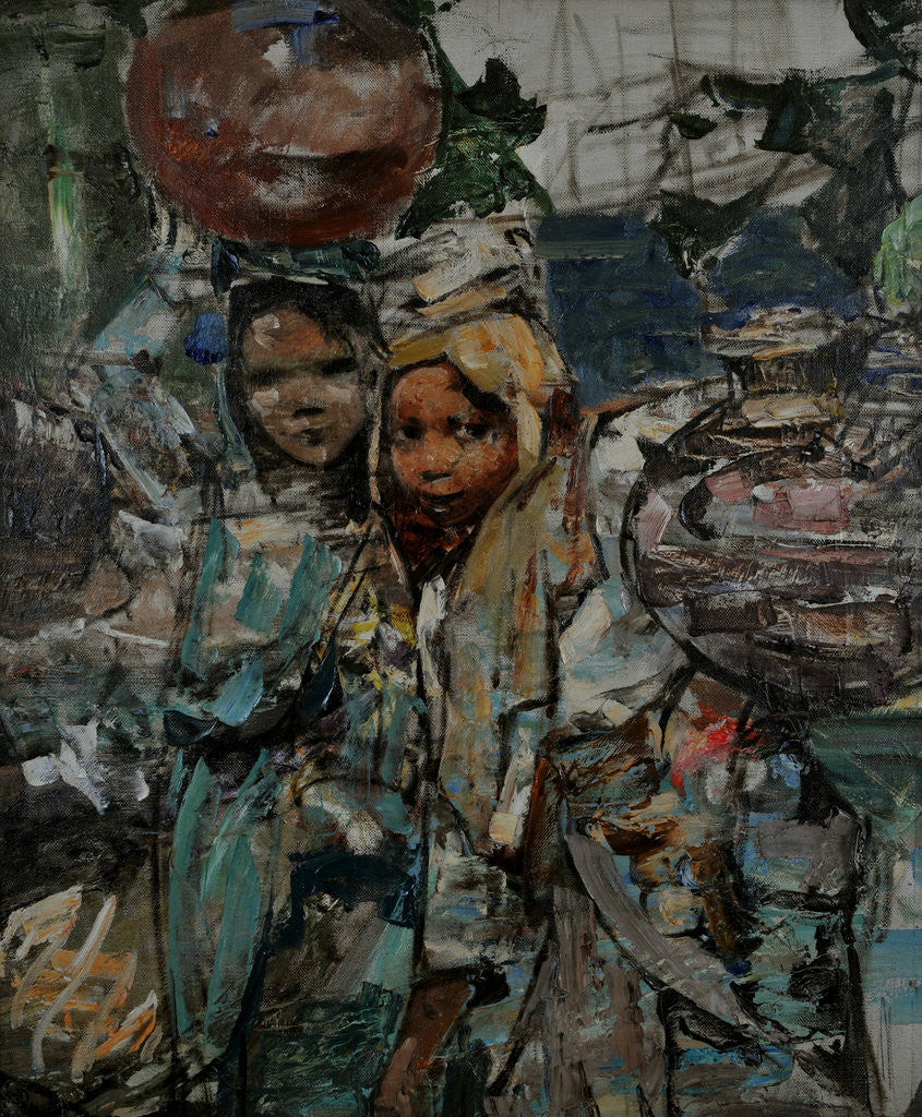 Detail of Ceylon Water Pots, c.1907-09 by Edward Atkinson Hornel