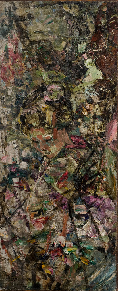 Detail of The Pink Kimono, c.1921-25 by Edward Atkinson Hornel