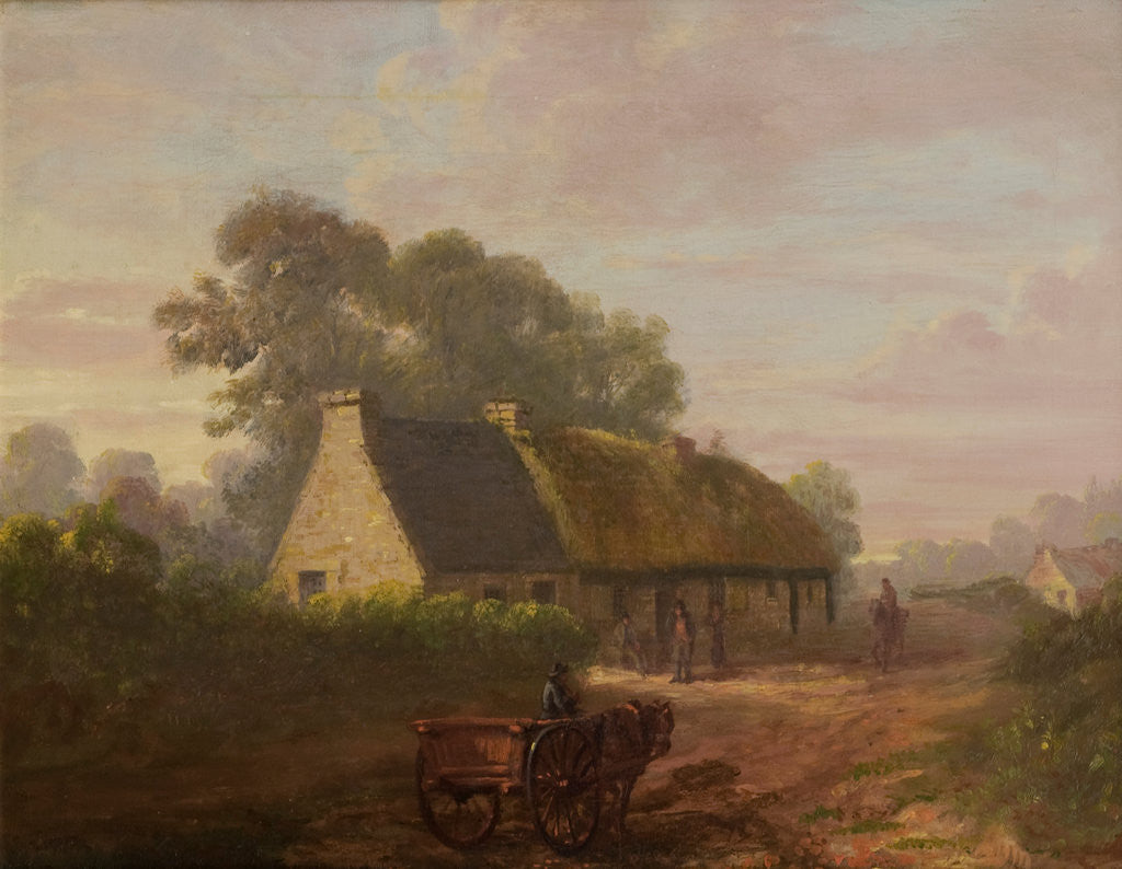 Detail of The Cottage,1816 by John Fleming
