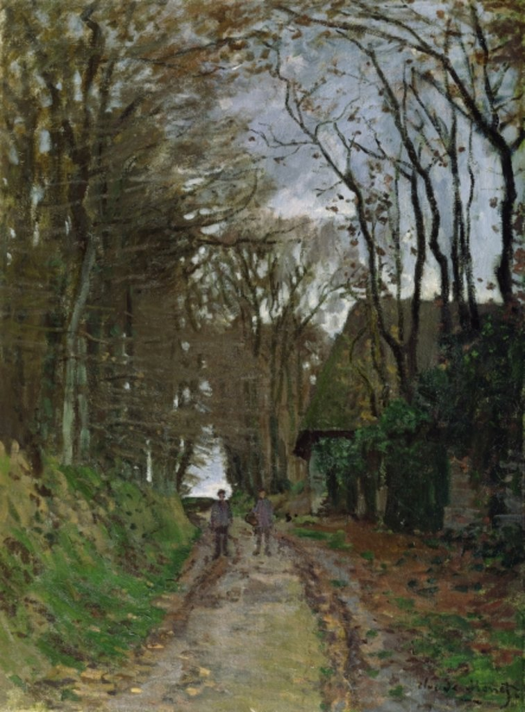 Detail of Path in Normandy by Claude Monet