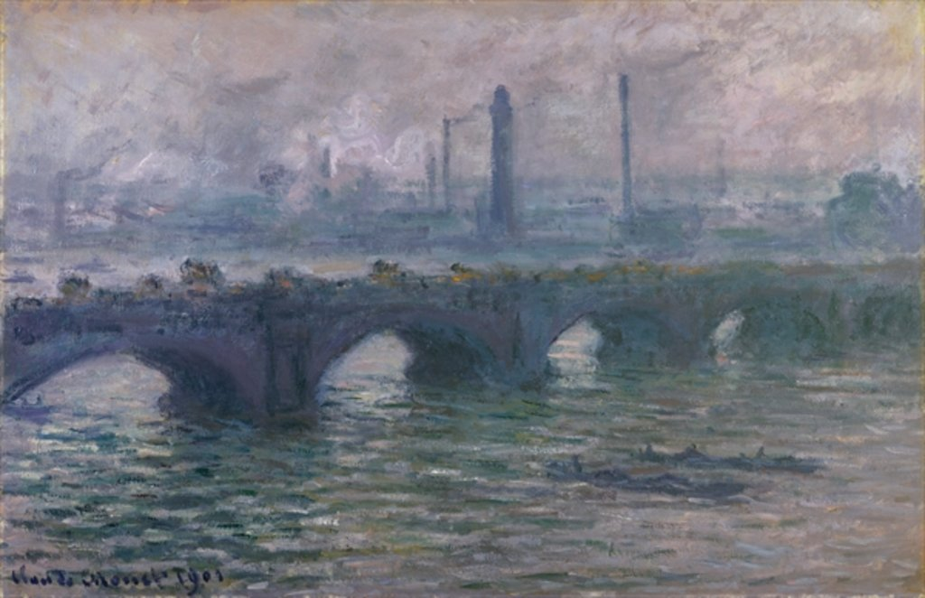 Detail of Waterloo Bridge, 1901 by Claude Monet