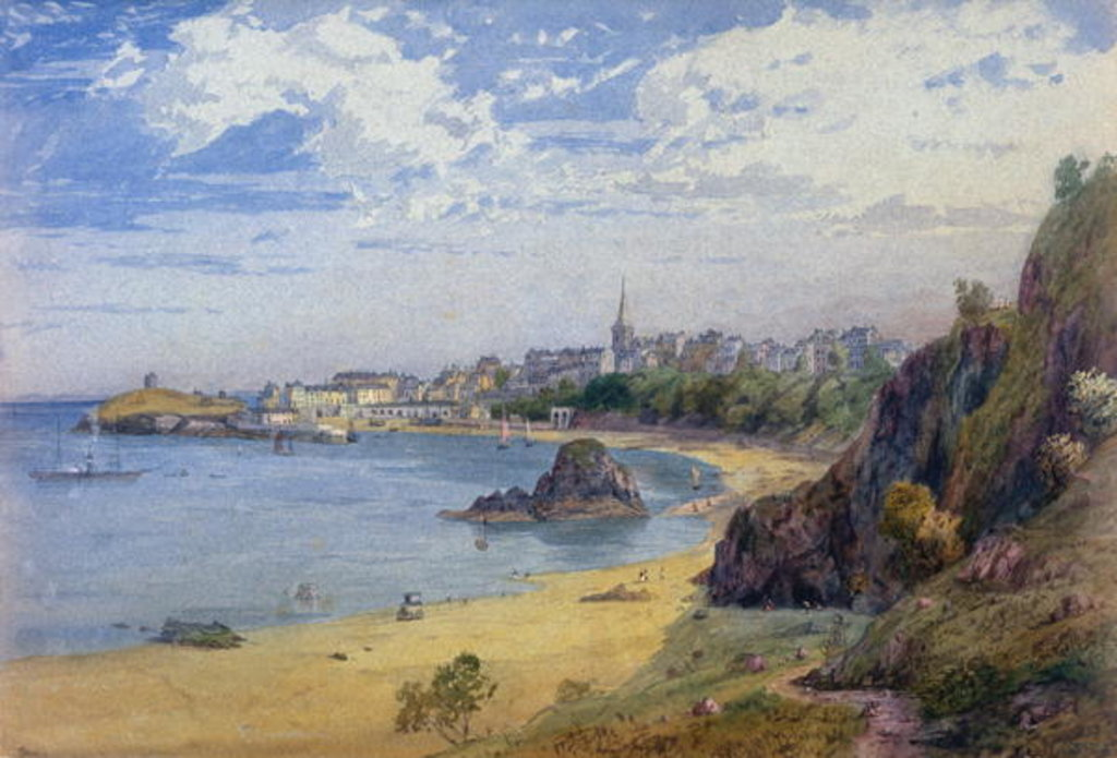 Detail of Tenby by James Baker Pyne
