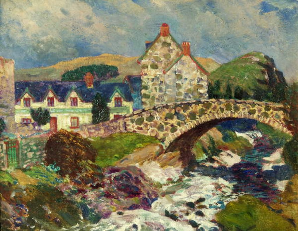 Detail of Llwygwril, Near Barmouth by Christopher Williams