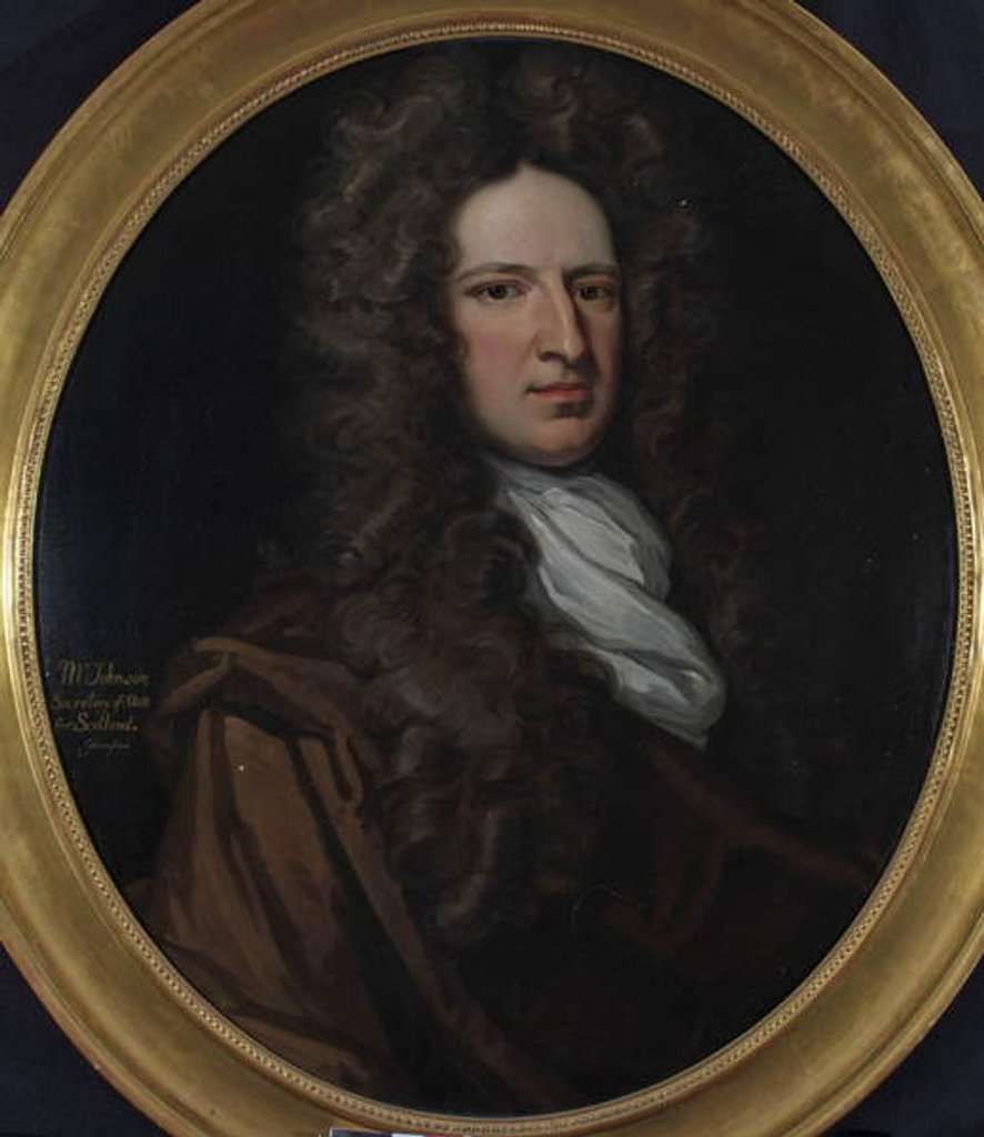 Detail of Mr James Johnston by Thomas Gibson