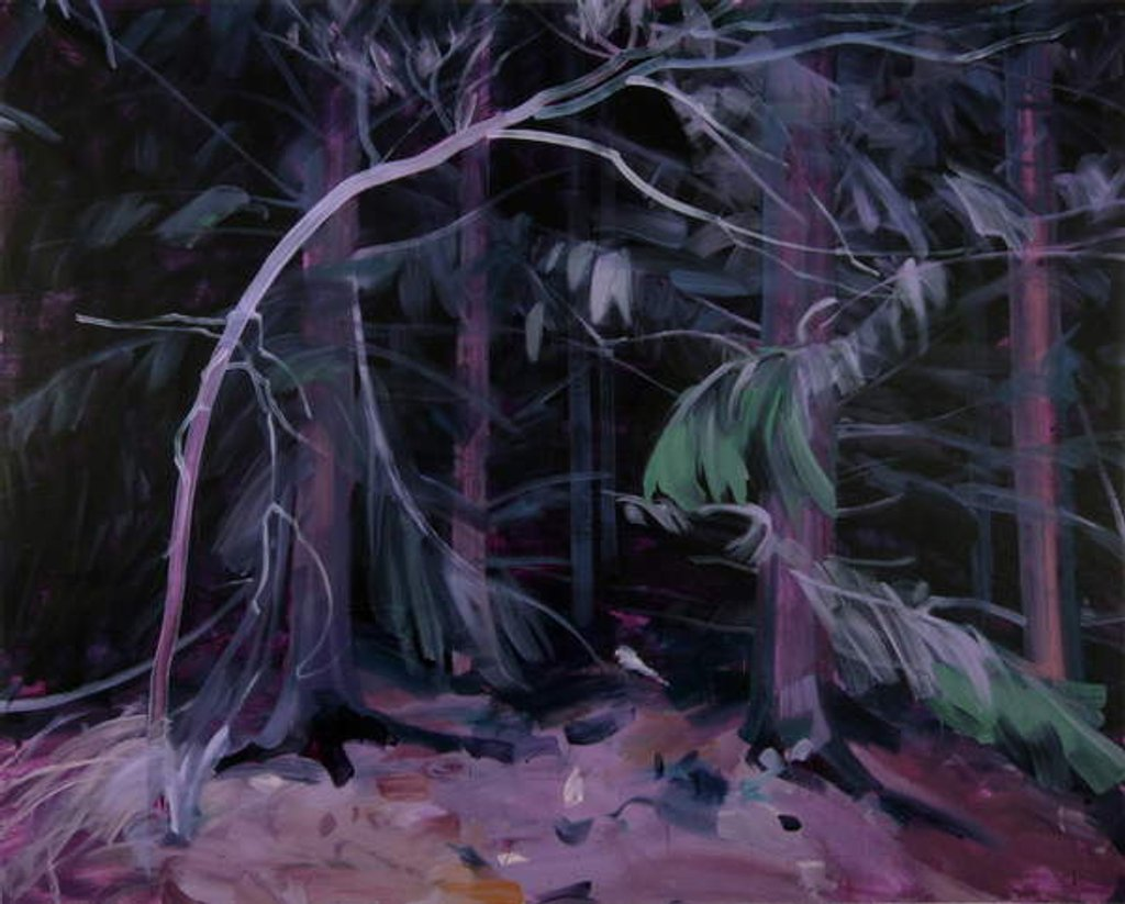 Detail of Forêt-noire 9 ,2019 by Olivier Morel