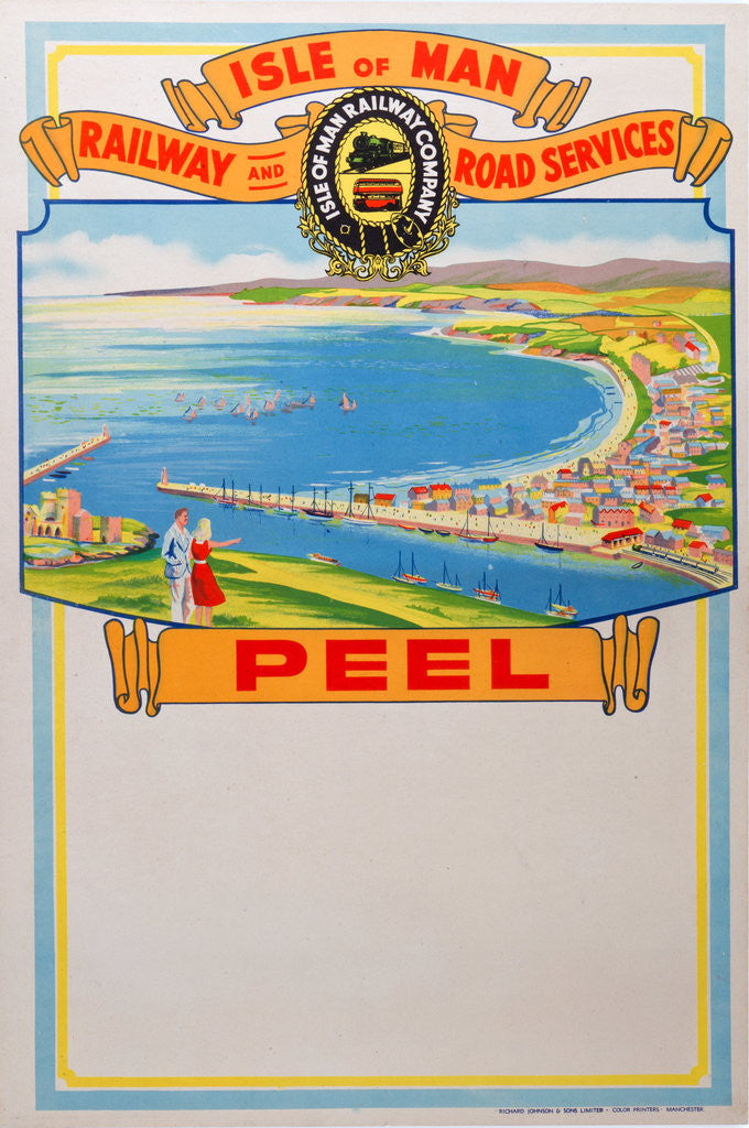 Detail of Isle of Man Railway and Road Services Peel by Isle of Man Railway Co.
