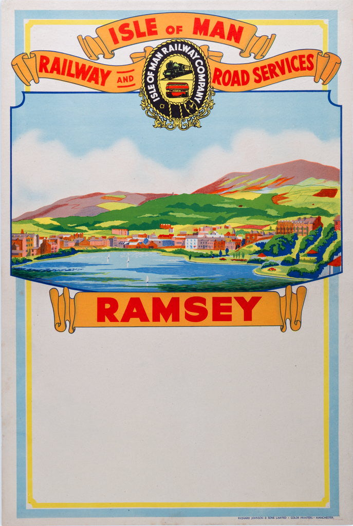 Detail of Isle of Man Railway and Road Services Ramsey by Isle of Man Railway Co.