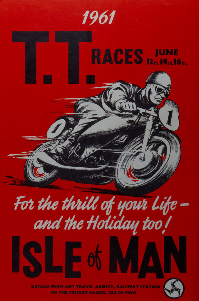 Detail of 1961 TT races Isle of Man by Anonymous