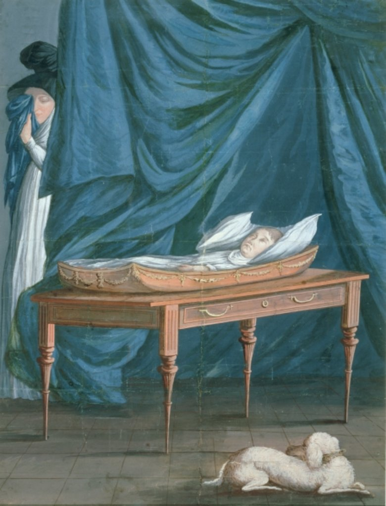 Detail of Death of William, c.1807 by Michele Felice Corne