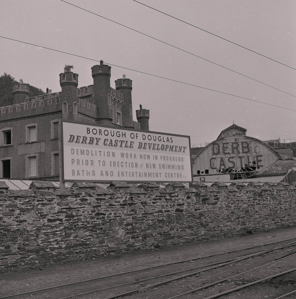Detail of Demolition of Derby Castle by Manx Press Pictures