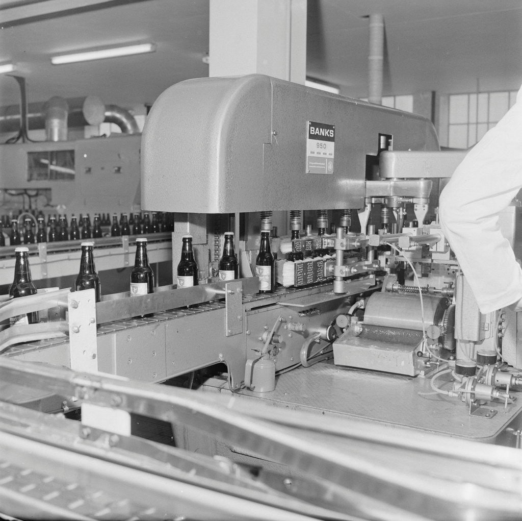 Detail of Opening of Okells Bottling Plant by Manx Press Pictures