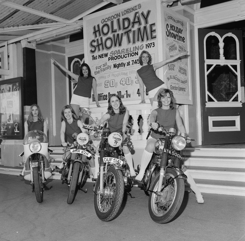 Detail of Holiday Show Time, Gaiety Theatre by Manx Press Pictures