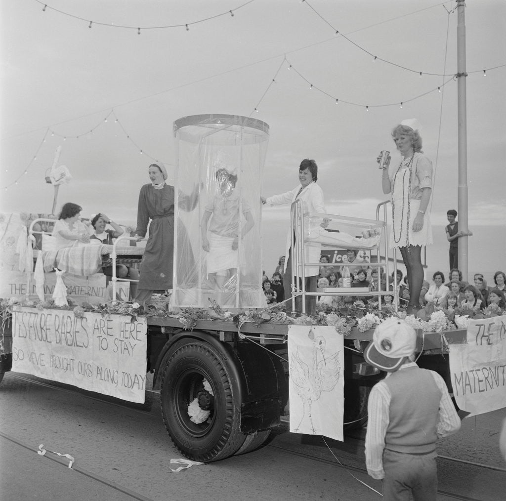 Detail of Douglas Carnival by Manx Press Pictures