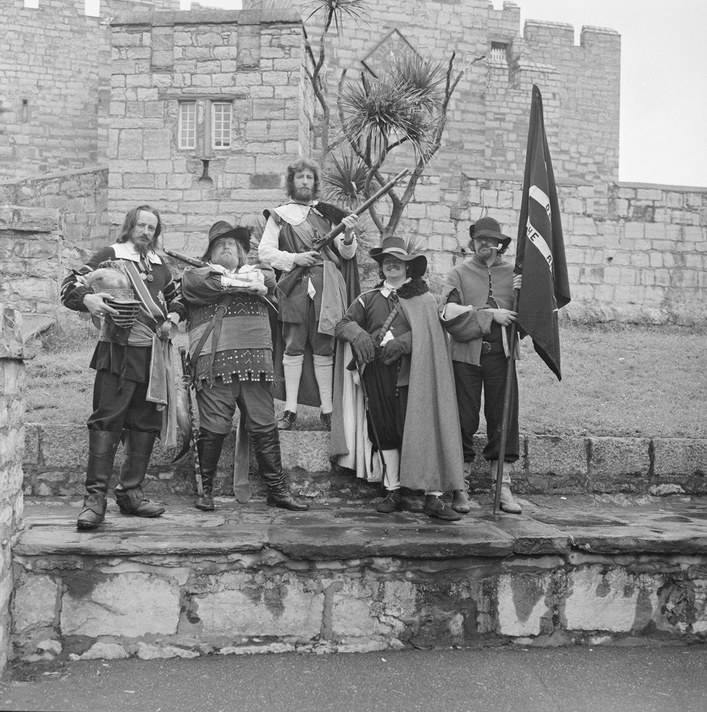 Detail of 17th century pageant, Castle Rushen by Manx Press Pictures