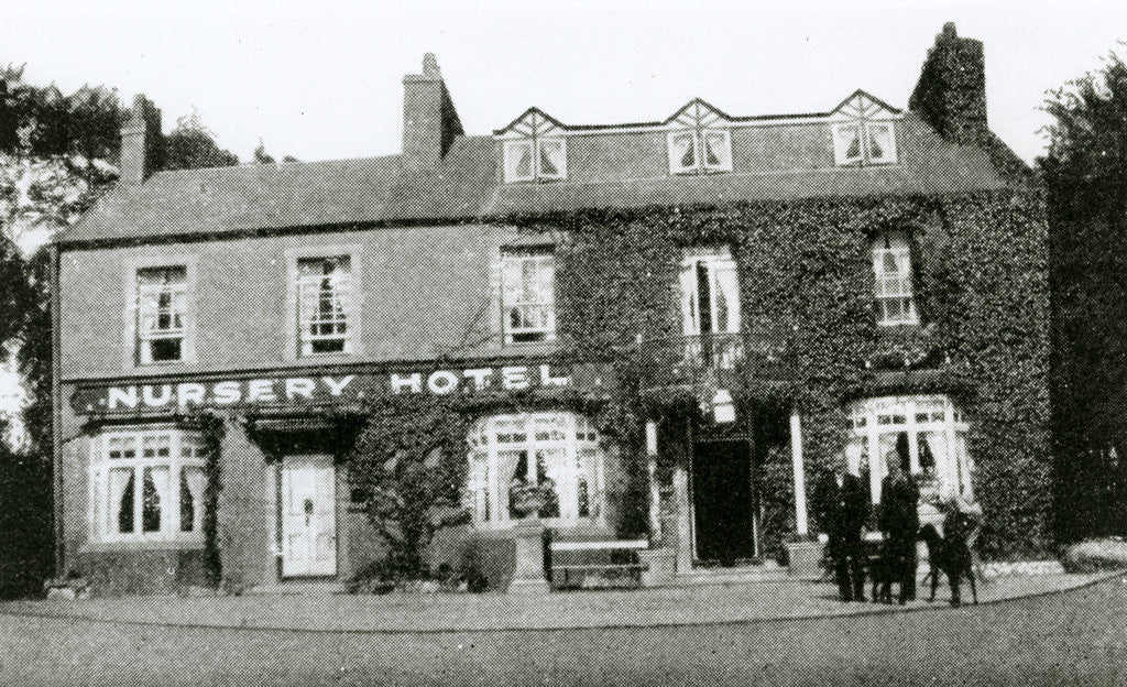 Detail of Nursery Hotel, Onchan by Anonymous