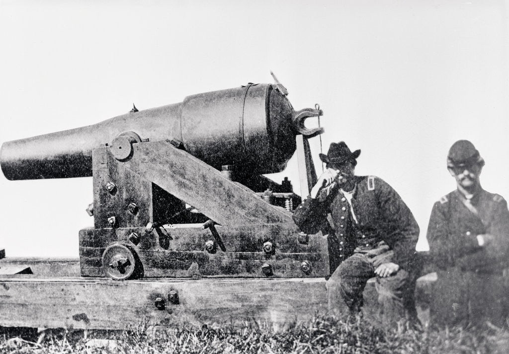 Detail of Confederates Cannon Called the Whistling Dick by Corbis