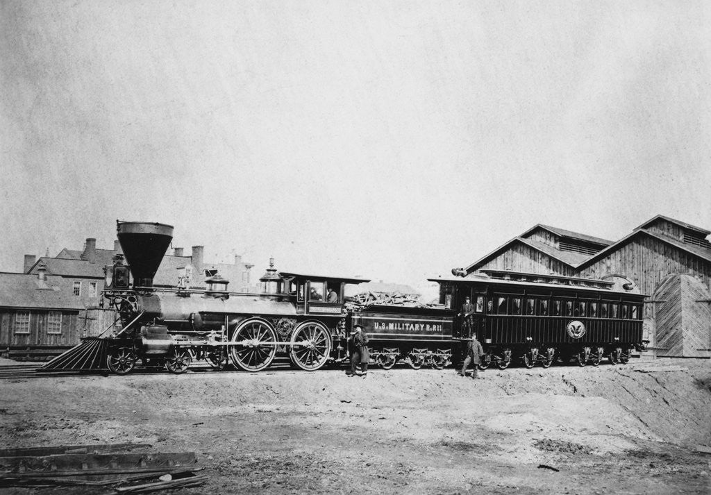 President Abraham Lincoln S Funeral Train Posters Prints By Corbis