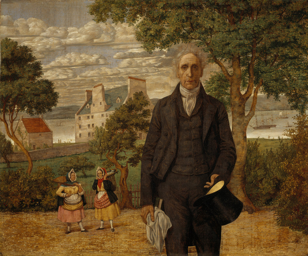 Sir Alexander Morison, 1779 - 1866. Alienist by Richard Dadd