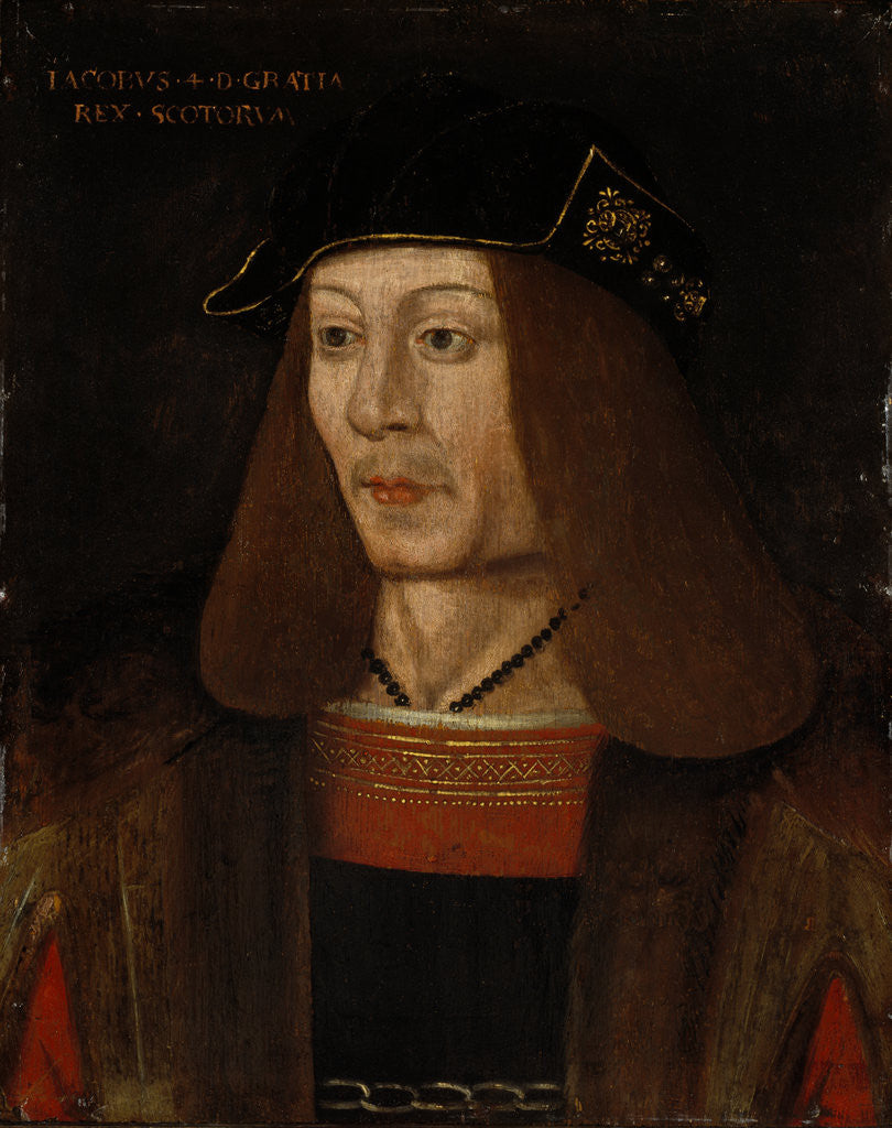 Detail of James IV, 1473 - 1513. Reigned 1488 - 1513 by unknown