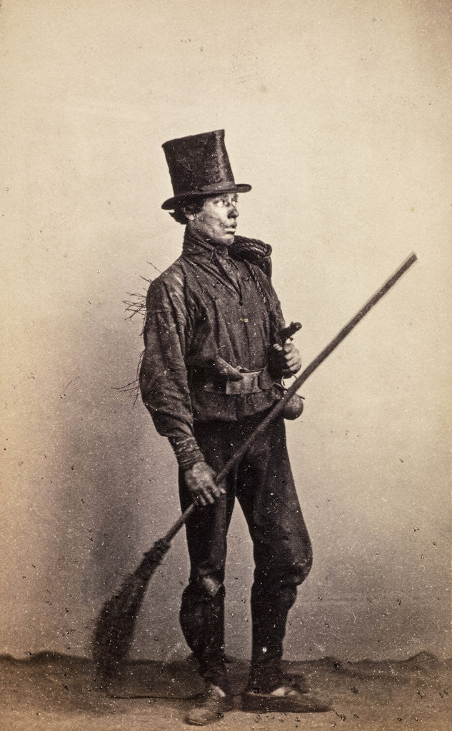Detail of Chimney Sweep by William Carrick