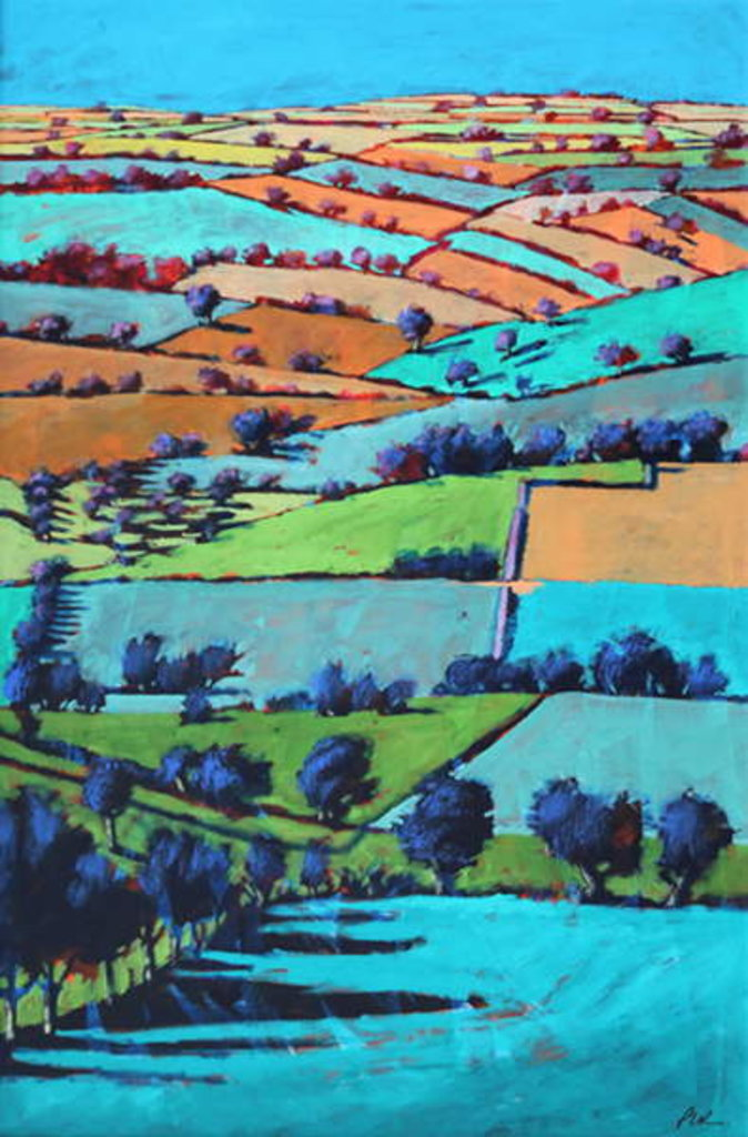 Detail of Rodge Hill by Paul Powis