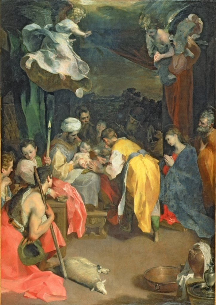 Detail of The Circumcision of Christ, 1590 by Federico Fiori Barocci or Baroccio