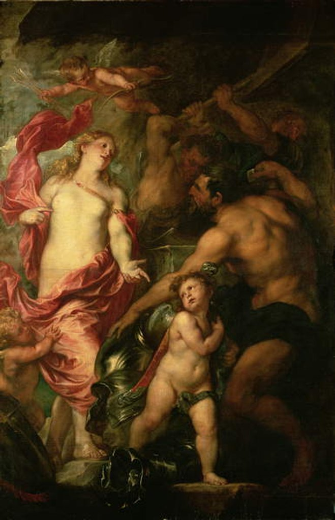 Detail of Venus asking Vulcan for the Armour of Aeneas by Anthony van Dyck