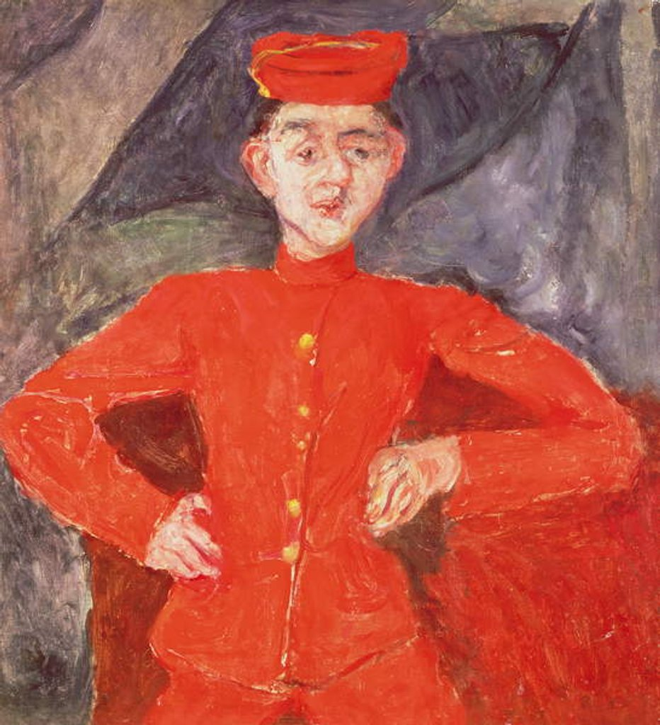 Detail of The Groom by Chaim Soutine