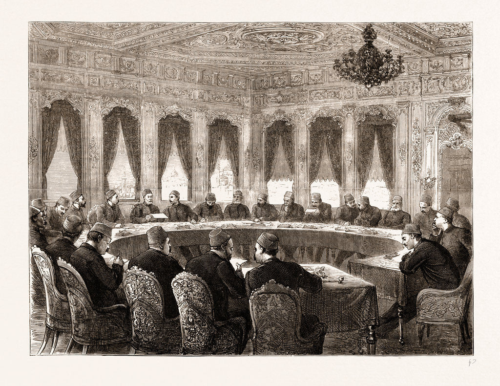 The Eastern Question: A Ministerial Council At Constantinople, Istanbul