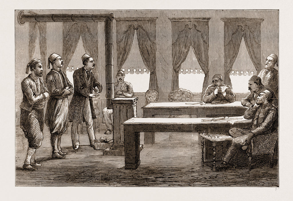 The Eastern Question: Criminal Court Of First Instance At Constantinople, Istanbul