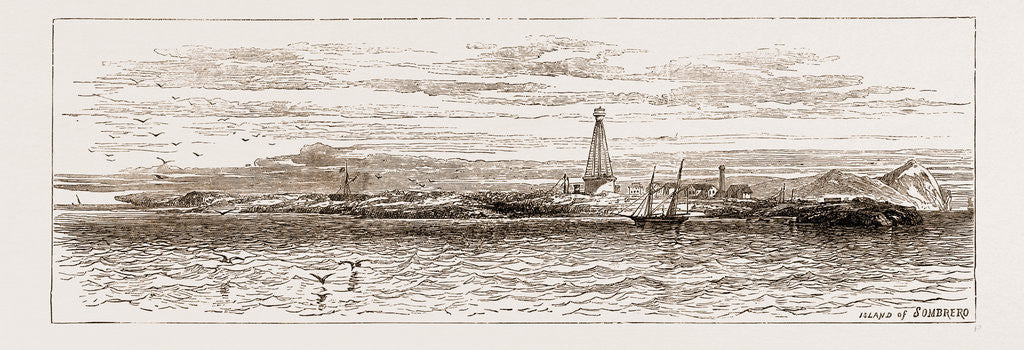 A Visit To The West Indies, 1876: Island Of Sombrero