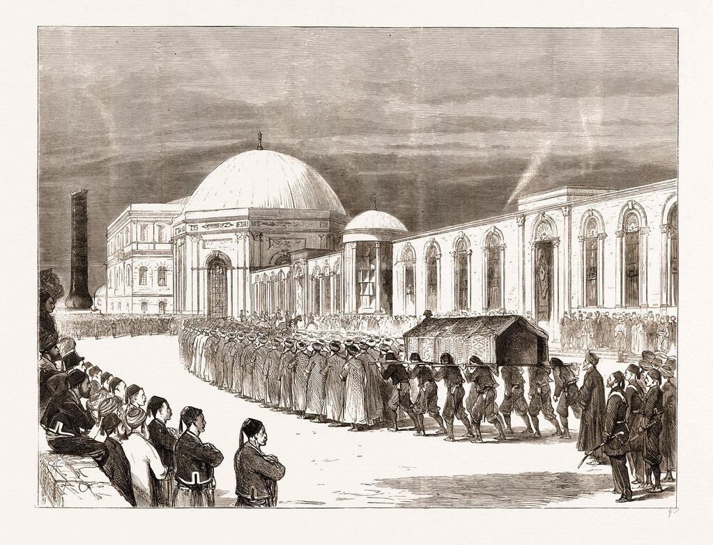 The Eastern Question: Funeral Procession Of The Late Sultan Entering The Mausoleum Of Sultan Mahmoud Il