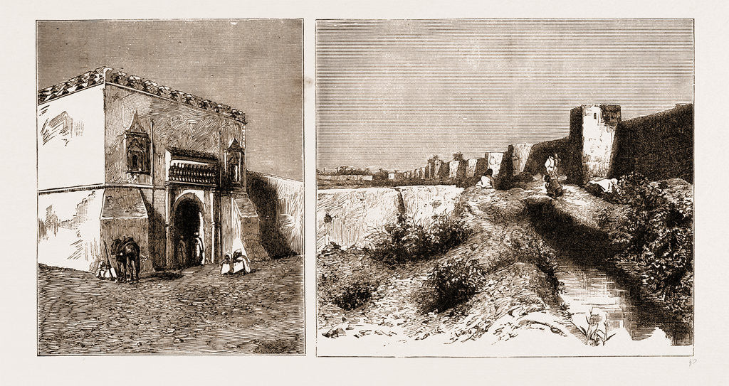 An Artist's Notes In Morocco, 1883