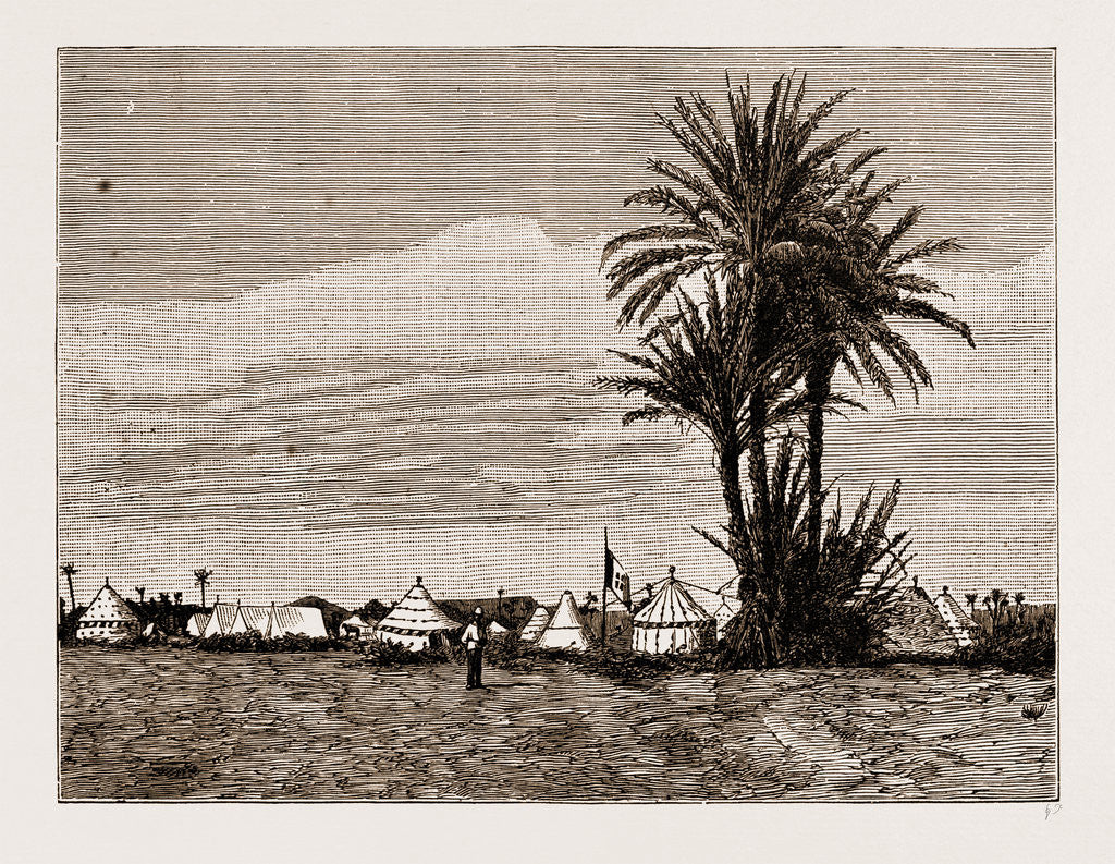 A Camp Of The Morocco Mission, 1883