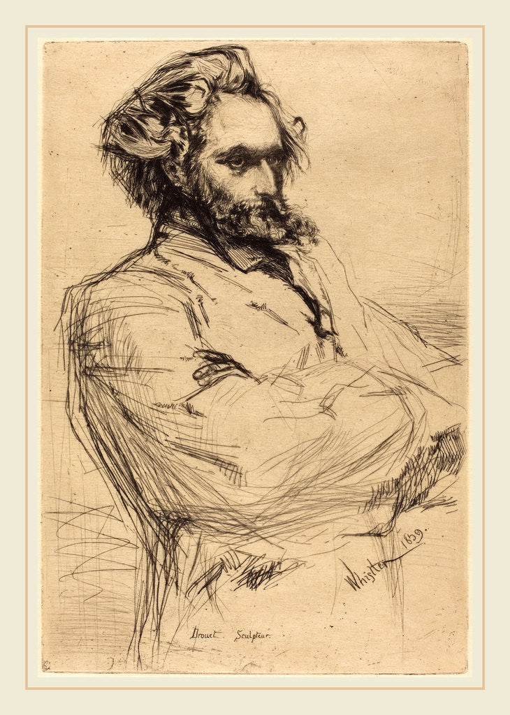 Drouet, 1859 by James McNeill Whistler