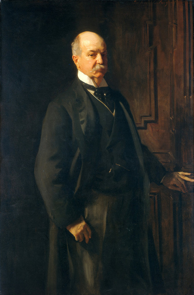 Detail of Peter A. B. Widener by John Singer Sargent