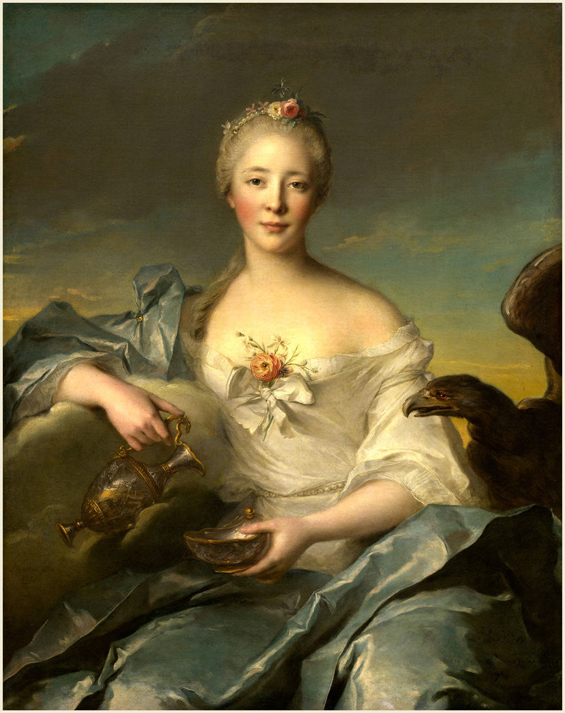 Madame Le Fèvre de Caumartin as Hebe, 1753 by Jean-Marc Nattier